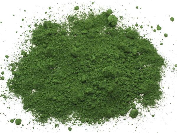 Ossido colore verde