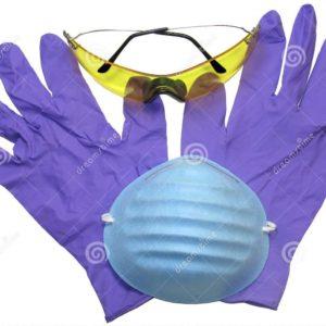Mascherine e guanti